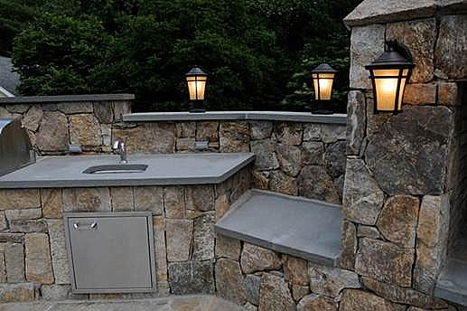 Outdoor Kitchen Amp Fireplace Norwalk Connecticut Ct